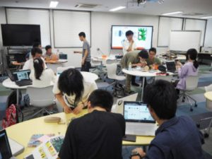九州大学 PBL演習の講義風景